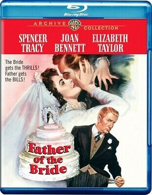Father of the Bride [New Blu-ray] Manufactured On Demand, Black & White, Full