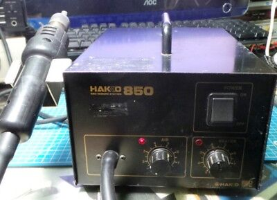 HAKKO 850 SMD ESD Safe Hot Air Rework Station