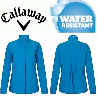 Callaway Womens Ladies Golf Lightweight Water Wind Resistant Jacket Breathable