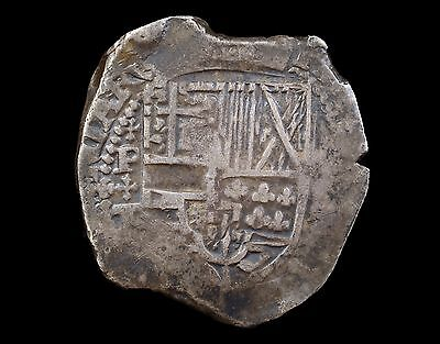 Scarce Spain, Philip Iv 1630 8 Reales Cob Coin