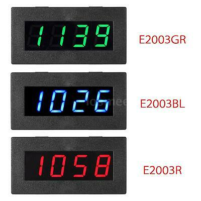 4 LED Digital Frequency Tachometer RPM Meter for Car Motor Speed Testing G4A0