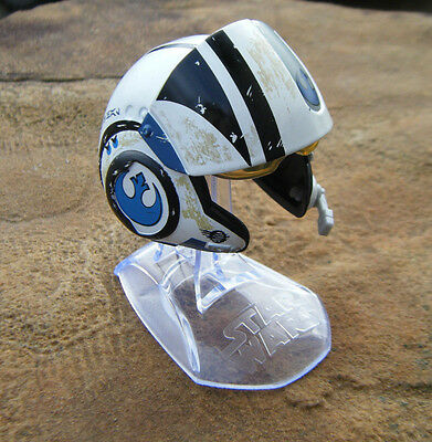Star Wars Titanium Series Poe Dameron Helmet Loose NEW