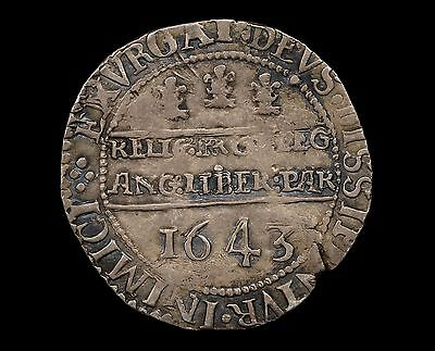 Charles I Oxford Half Crown