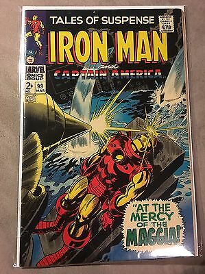 Tales of Suspense #99 - Great Iron Man Cover - 1968 (Grade 6.5) WH
