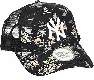 New Era Offshore Mlb Mesh Neyyan Blk - Berretto Linea New York Yankees da uomo,