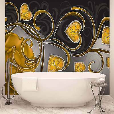 WALL MURAL PHOTO WALLPAPER XXL Rose Heart Abstract (710WS)