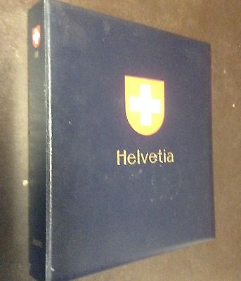 Switzerland Collection 1854-1990 in Davo Album, Super Clean, 100+ Pages