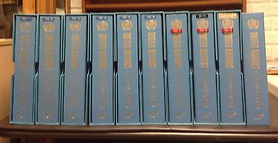 United Nations First Day Covers, 10 Books, Around 800 Different Covers, 1951-81