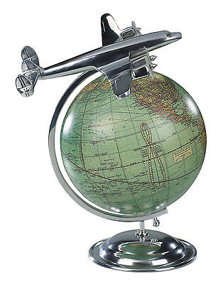 Authentic Models On Top Of The World Desktop Globe