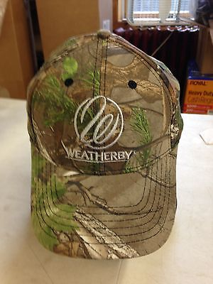 RealTree EXtra Green Embroidered  Weatherby  Hat   New!!!!   Worldwide ship