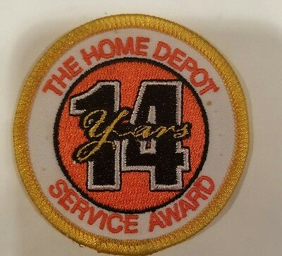 Home Depot Years of Service Patch