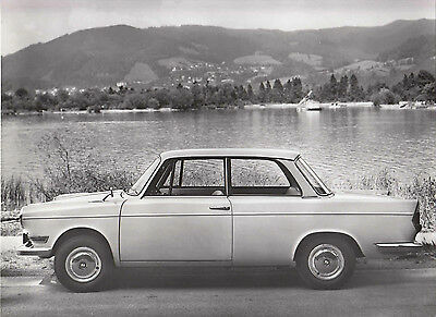 Bmw Ls Luxus, Period Photograph.