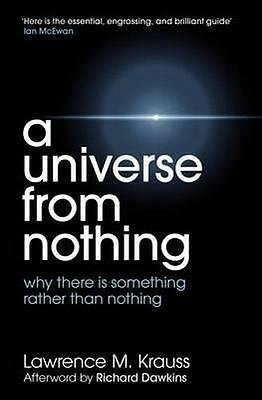NEW Universe from Nothing By Lawrence Krauss Paperback Free Shipping