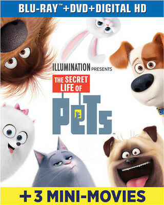 The Secret Life Of Pets [New Blu-ray] With DVD, UV/HD Digital Copy, 2 Pack, Di