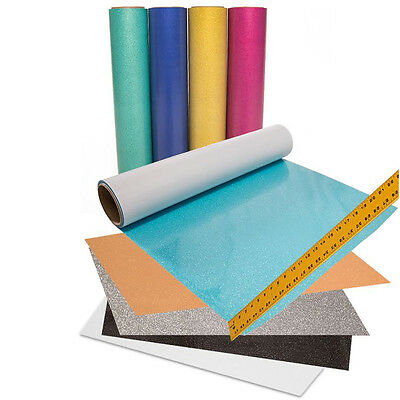 "Color Theory GLITTER Heat Transfer Vinyl Htv (Pick 10 Sheets 20""x12"" for $39.90)"
