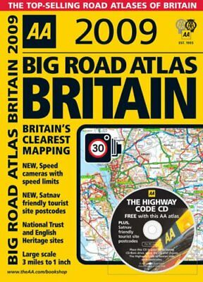 AA Big Road Atlas Britain (AA Atlases and Maps) (A... by AA Publishing Paperback