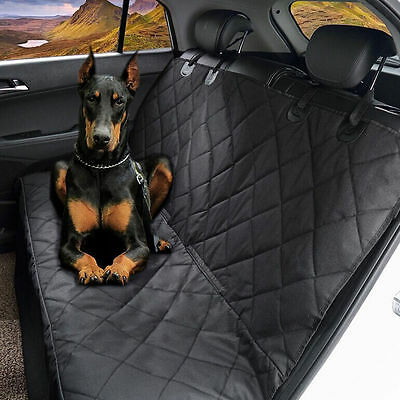 Waterproof Car SUV Van Rear Back Seat Pet Dog Cover Protector Blanket Padding US