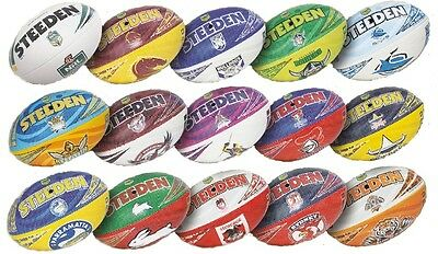 Genuine Steeden NRL Club Beach Footballs (Size 5) + Buy Now!