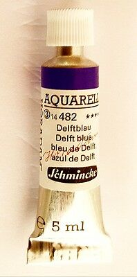 Schmincke 5Ml Watercolour Tube Delft Blue Series 3 Duckpond Discounts
