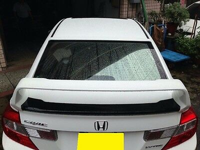 REAR TRUNK SPOILER MUGEN STYLE FOR HONDA CIVIC '12-'15 4D Sedan Unpainted