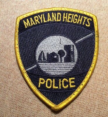 MO Maryland Heights Missouri Police Patch (4In)