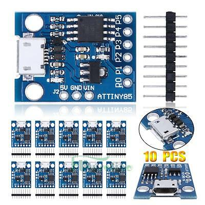 10Pcs Digispark Kickstarter Attiny85 Micro USB Development Board for Arduino