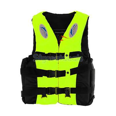 Adult's Life Jacket Fully Enclosed Guard Swimming Drifting Rescue Vest M