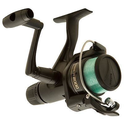 NEW - Shimano IX 2000R Spin Reel Rear Drag Light Spinning Spooled With Line