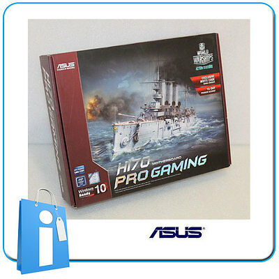 Placa base ATX ASUS H170 PRO GAMING ddr4 Socket 1151 con Accesorios