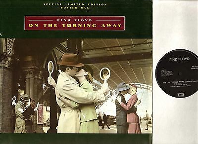 "PINK FLOYD on the turning away: poster bag 12"" PS EX/EX- 12 EMP 34 uk emi 1987"