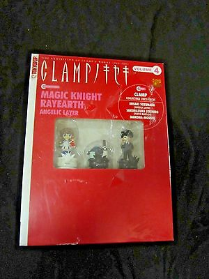 NEw Clamp Volume 4 Magic Earth Rayearth WITH BOOK Chess pieces Tokyopop