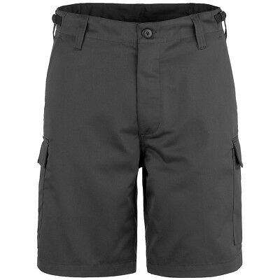 Brandit Vintage Classic Combat Cargo Mens Army Military Shorts Camping Dark Camo