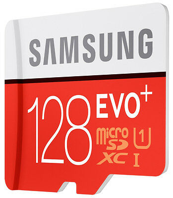 Samsung 128GB micro SD XC Memory Card For Tab 4 8.0 Tablet