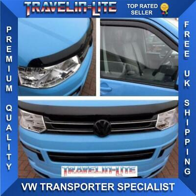 VW T5 Transporter Bonnet & Wind Deflector's Great Quality 10 - 15 Brand New