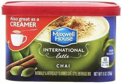 Maxwell House International Latte Chai Cafe Style Beverage Mix