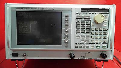 Advantest R3765BH 40MHz - 3.8GHz, Built-in SWR Bridge Network Analyzer *FOR PART