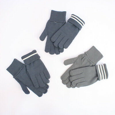 German WW2 Army Grey Wool Gloves Reproduction