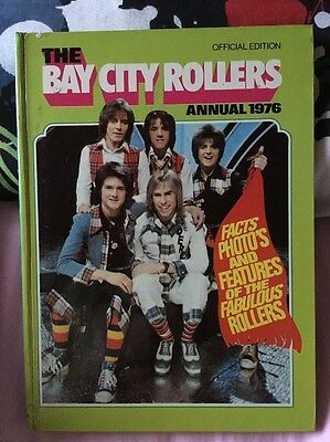 THE BAY CITY ROLLERS annual 1976 RARE ***Unclipped***