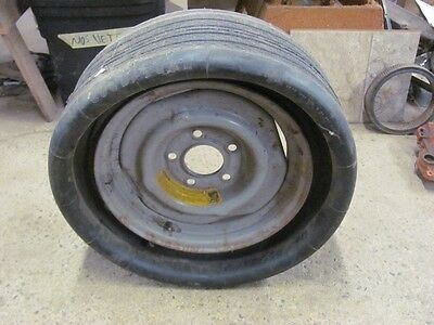 NOS Goodyear G78-15 Custom Mini Space Saver Spare Cadillac? K-3-7 Date RL Code