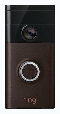 Ring Wi-Fi Enabled Video Doorbell Venetian Bronze Smart Security Motion NEW