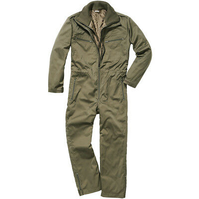 Brandit Panzerkombi Overall Tactical Military Coverall Mens Work Army Suit Olive