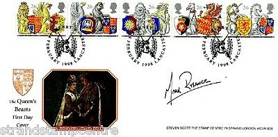1998 Queen's Beasts - Steven Scott Official - Signed By MARK RYLANCE