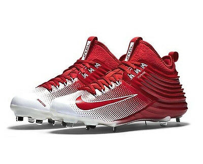Men's Nike Lunar Trout 2 Baseball Cleats Red -NEW