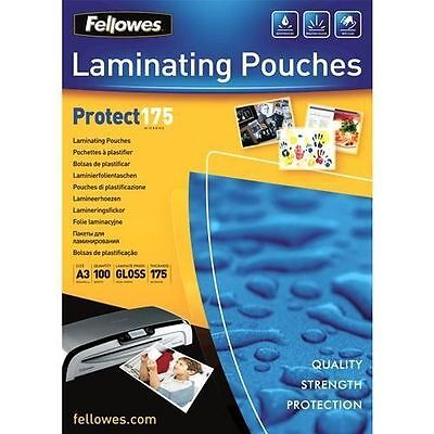 Pochettes brillantes Fellowes A3 175 microns [Transparent] - Machines NEUF