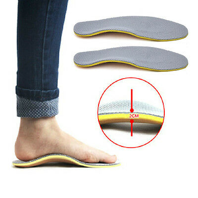 Orthotic Flat Foot Arch Support Cushion Shoe Insoles Heel Pain Relief Inserts
