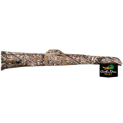 New Tanglefree Easy Open Velcro Side Opening Shotgun Shot Gun Case Max-5 Camo