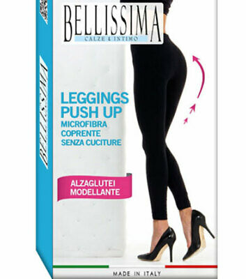 Leggings Modellanti Push Up Alza Glutei Pantacollant Microfibra Caldi Coprenti