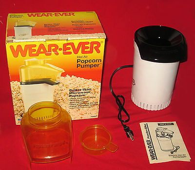 New Never Used Wear-Ever Hot Air Popcorn Pumper 73444 1250W