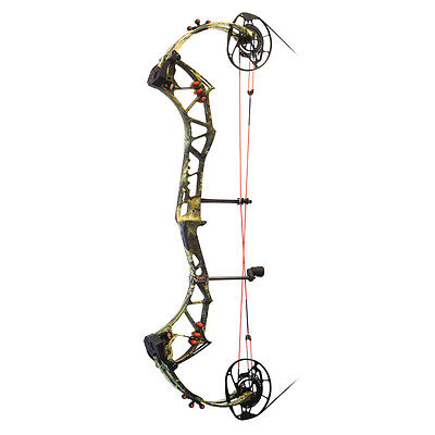 New 2017 PSE Evolve 35 Compound Bow 70# Right Hand Country Camo