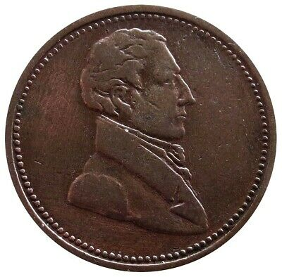 Canada Commercial Change Half Penny Small Bust Colonial Token Lc-59B